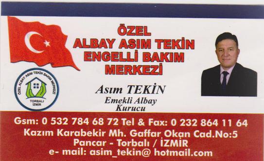 ÖZEL ALBAY ASIM TEKİN ENGELLİ BAKIM MERKEZİ