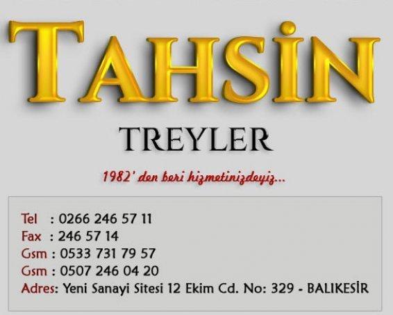 Tahsin Treyler ,Balıkesir hayvan taşıma dorsesi,lowbet dorse,sal dorse 0 533 731 79 57